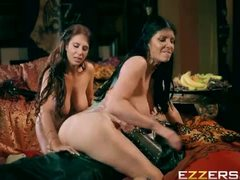 Ayda Swinger And Romi Rain In Queen Of Thrones Part 3