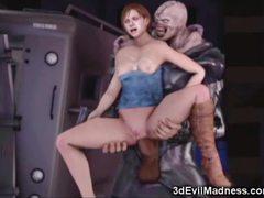 Mädchen Gefickt Alien Tentacles
