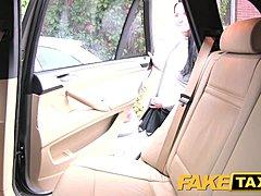 Taxi Tschechisch Brünette Fake Home
